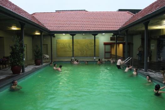 New Zealand: Polynesian Thermal Spa in Rotorua